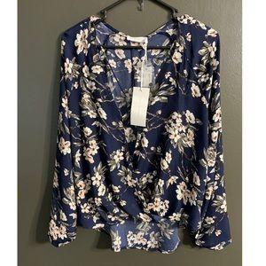 Darling Lush floral top